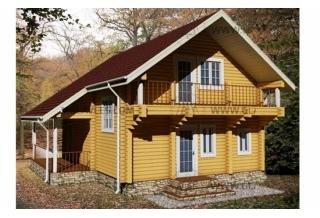 Проект 8-130-б: Дом из бруса 9×9